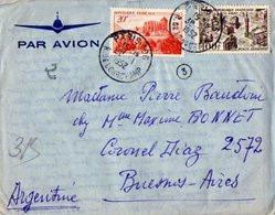 TB 2328 - LAC - Lettre Par Avion De PARIS Pour BUENOS AIRES ( Argentine ) - Poste Aérienne