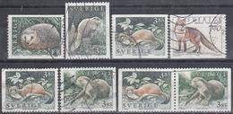 SUECIA 1996 Nº 1905/09 + 1907a USADO - Sweden