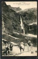 CPA - GAVARNIE - Excursionnistes Sur Le Chemin Du Cirque - Gavarnie