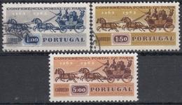 PORTUGAL 1963 Nº 919/21 USADO - 1910-... République