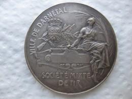Médaille Ville De DARNETAL, Société Mixte De Tir Par A. Bertrand - France