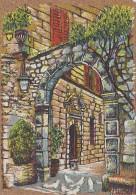 Matériaux - Carte En Liège - Peinture Sur Liège - Var - Portail Aux Colombes - Ansichtskarten