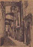 Matériaux - Carte En Liège - Bonifacio - Vieille Rue - Ansichtskarten