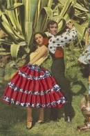 Matériaux - Carte Brodée Et Tissu - Couple Espagne - Andalousie - Cactus - Ansichtskarten