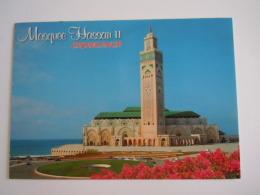 Maroc CPM Casablanca Mosquee Hassan II - Casablanca