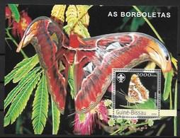 GUINEA - BISSAU  2003 Butterflies - Butterflies
