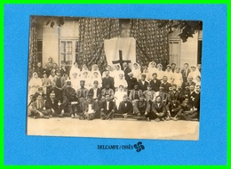 .Tonnay?.Carte Photo Hôpital Auxiliaire N°107 (recto Verso) - Andere Gemeenten