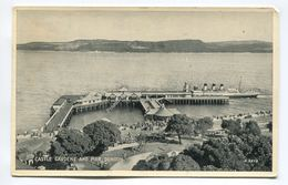 Castle Gardens And Pier Dunoon - Argyllshire