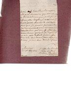 DAUBRY.lettre Autographe Signée.deux  Pages à Monsieur Du Motté à Vignats .26 Octobre 1721. - Autographes