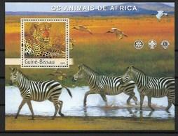 GUINEA - BISSAU  2003  Leopard - Big Cats (cats Of Prey)