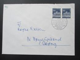 Berlin Freimarken Brandenburger Tor Nr. 289 Als Waagerechtes Paar MeF. Portogerecht. Sonderstempel - [5] Berlijn