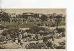 Postcard - Rock Gardens & Bandstand,Southsea - Posted  10th Aug 1933 Very Good - Postcards
