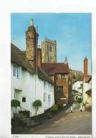 Postcard - Village & Church Steps,Minhead - Posted 3rd Aug 1978, Very Good - Postcards