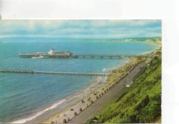 Postcard - Pier & Bay, Bournemouth - Posted 12th June 1972 Very Good - Postcards