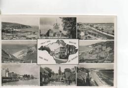 Postcard - I.O.W Nine Views - Posted 23rd June 1957  Very Good - Postcards