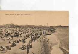 Postcard - Beach North Of Jetty, Great Yarmouth - Unused Never Posted  Very Good - Postcards