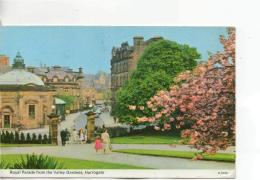 Postcard - Royal Parade From The Valley Gardens, Harrogate - Posted  10th Sept 1973 Very Good - Postcards