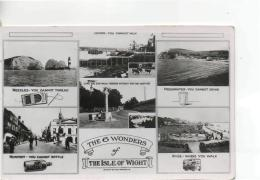Postcard - The Six Wonders Of, The Isle Of Wight - Unused Never Posted  Very Good - Postcards
