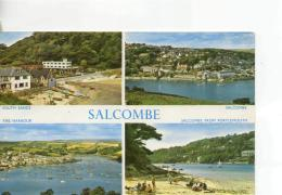 Postcard - Salcombe Four Views - Posted 30th Sept 1966 Very Good - Postcards