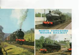 Postcard - North Yorkshire Moors Railway 3 Views  - Unused Never Posted   Very Good - Postcards
