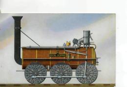 Postcard - Hackworth's Locomotive - Royal George - Posted 20th Aug1983  Very Good - Postcards