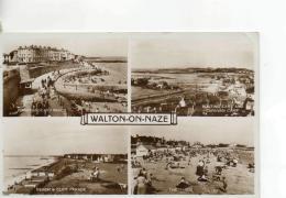 Postcard - Walton - On - Naze Four Views - Posted 26th Aug 1958  Very Good - Postcards