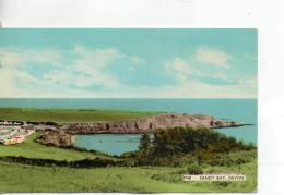 Postcard - Sandy Bay,Devon - Posted 16th June 1963  Very Good - Postcards