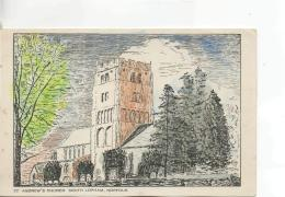 Postcard - St. Andrew's Church - South Lopham, Norfolk - Unused Never Posted Very Good - Postcards