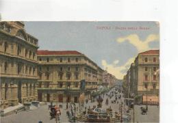 Postcard - Napoli - Piazza Della Borsa - Posted  But Date Obscured Very Good - Postcards