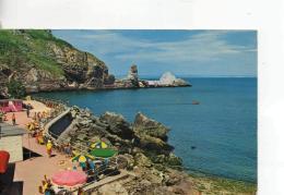 Postcard - Anstey's Cove, Torquay,Devon - Posted  14th Aug 1974 Very Good - Postcards