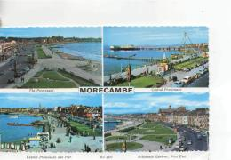 Postcard - Morecambe Four Views - Posted 27th Aug 1985 Very Good - Postcards