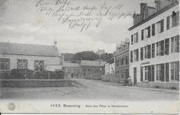 BEAURAING ..-- GENDARMERIE Et Salle Des Fêtes . FELDPOST . 1918 . Vers Allemagne . Voir Verso . - Beauraing
