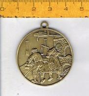 354 - MEDAILLE - JUBILEUMFEEST BAKKERS  BANKETBAKKERSBOND LOKEREN - 1904 - 1979 - Pièces écrasées (Elongated Coins)