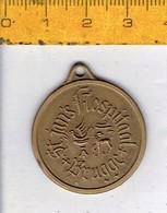 278 - MEDAILLE - ST JAN S HOSPITAAL BRUGGE - Pièces écrasées (Elongated Coins)