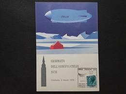 REPUBBLICA - 50° Anniversario Conquista Dei Poli - Dirigibile Italia + Spese Postali - 6. 1946-.. Repubblica