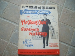 Cliff Richard Souvenir Album Young Ones Summer Holiday THE SHADOWS Hank Marvin Rare Scarce Selten Les - Unclassified
