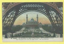 * Paris - Parijs (Dép 75 - Capital De La France) * (Photocolor L'abeille, Nr 26) Trocadéro Vu Sous La Tour Eiffel - Tour Eiffel