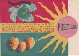 PORTUGAL BROCHURE - ALGARVE - FARO - FIGS AND ALMONDS - 1951 - Tourism Brochures