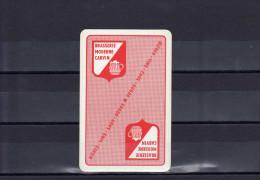 Dos D'une Carte à Jouer De La Brasserie Moderne CARVIN - Cartes à Jouer