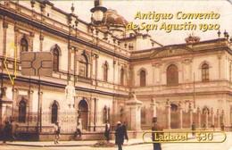 TARJETA TELEFONICA DE MEXICO (ANTIGUO CONVENTO DE SAN AGUSTIN 1920). (150) - México