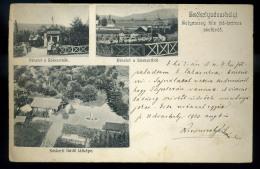 SZÉKELYUDVARHELY 1903.  Solymossy Féle Jód-brómos SósfürdÅ' , Régi Képeslap  /  SZÉKELYUDVARHELY 1903 Solymossy Iodine-b - Hongrie