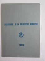 Troyes Discothèque De La Bibliothèque Municipale - Tourism Brochures