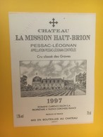 8312 - Château La Mission Haut-Brion 1997 Graves Spécimen - Bordeaux