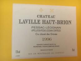 8313 - Château Laville Haut-Brion 1996 Graves Spécimen - Bordeaux