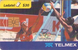 TARJETA TELEFONICA DE MEXICO (VOLEIBOL DE PLAYA 2000). (127) - Juegos Olímpicos