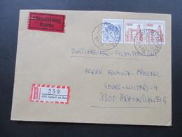 Berlin Freimarken BuS Nr. 539 Als Waagerechtes Paar MiF. Eilzustellung Expressbrief - [5] Berlijn