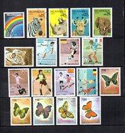 Nicaragua  1986  .-  Y&T Nº  1149-1152/1156-1158/1164-1165/1169     Aéreos - Nicaragua