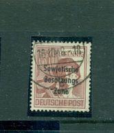 SBZ, Sowjetisch Besetzte Zone Auf Arbeiterserie, Nr. 195 PF II Gestempelt - Zona Sovietica
