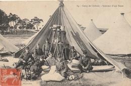 CAMP De CHALONS - Intérieur D'une Tente - Camp De Châlons - Mourmelon