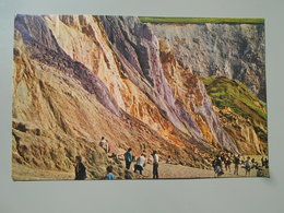ANGLETERRE ISLE OF WIGHT THE COLOURED CLIFFS ALUM BAY - Angleterre